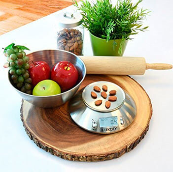 Mejor báscula de cocina digital para alimentos 2017 Etekcity EK4150