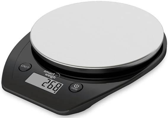 Mejor báscula de cocina digital para alimentos 2017 Smart Weigh