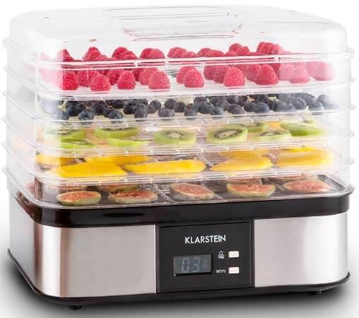 Mejor deshidratador de alimentos Klarstein Valle di Frutta