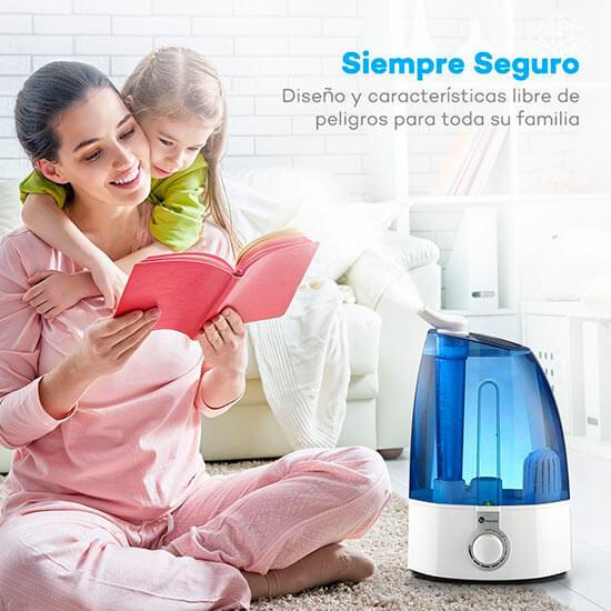 Mejor humidificador bebe ultrasonico TaoTronics opiniones precio