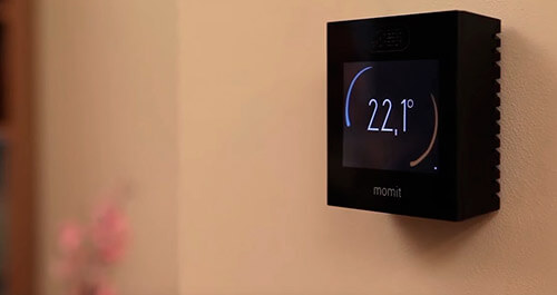 Termostato WiFi Momit programador calefacción