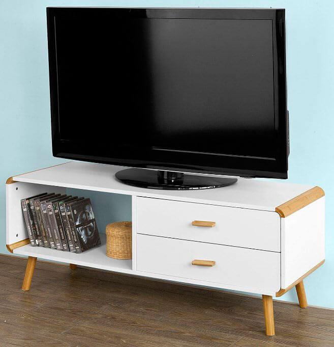 Mesa television mesa tv ct mesas de television de palets - Mesas vintage segunda mano ...