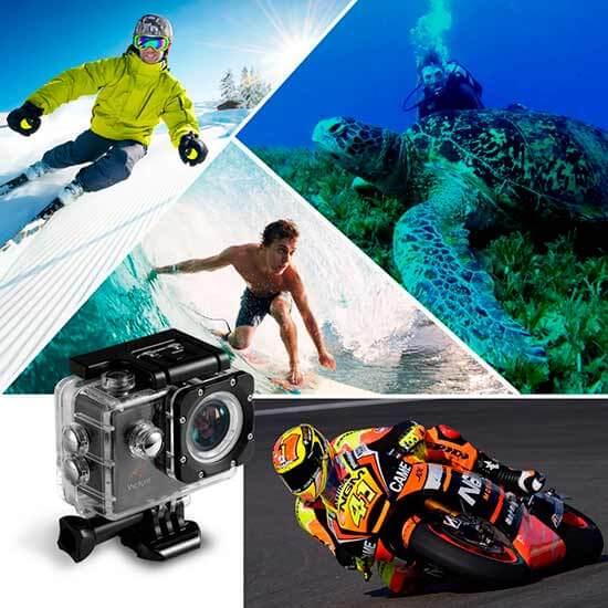Comparativa mejor cámara deportiva calidad precio 4K Victure WIFI Impermeable 2017