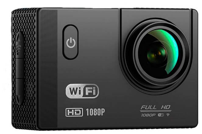 Comparativa mejor cámara deportiva calidad precio 4K Wifi Deportiva Sumergible de Topop 2017