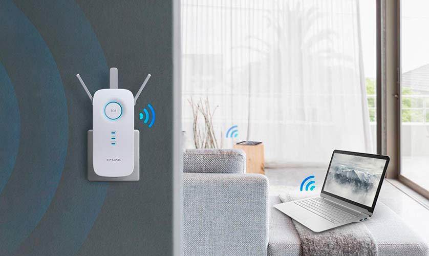 Mejor amplificador de señal Wifi precio TP Link AC1750 RE450