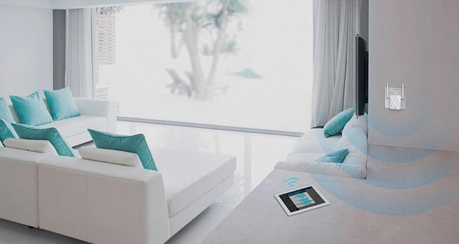 Mejor amplificador de señal Wifi precio TP Link N300 TL WA855RE