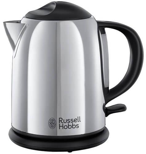 Mejor hervidor de agua eléctrico pequeño para infusiones Russell Hobbs 20190 70 Chester