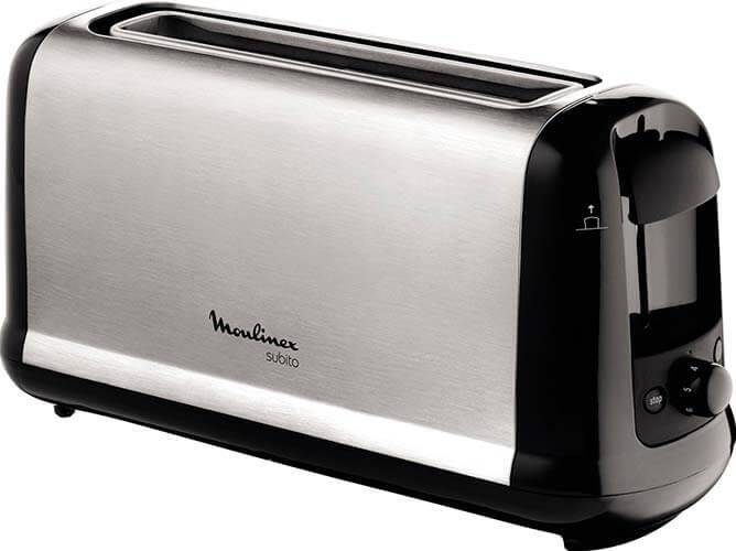 Mejor tostadora de pan barata Moulinex Subito LS260800