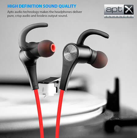 Mejores auriculares deportivos inalámbricos SoundPEATS-Q12