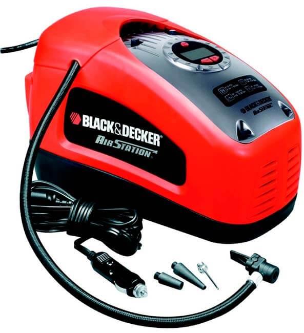 Mejores compresores de aire baratos precios opiniones Black and Decker ASI300-QS-compresor-11-bar--160-psi