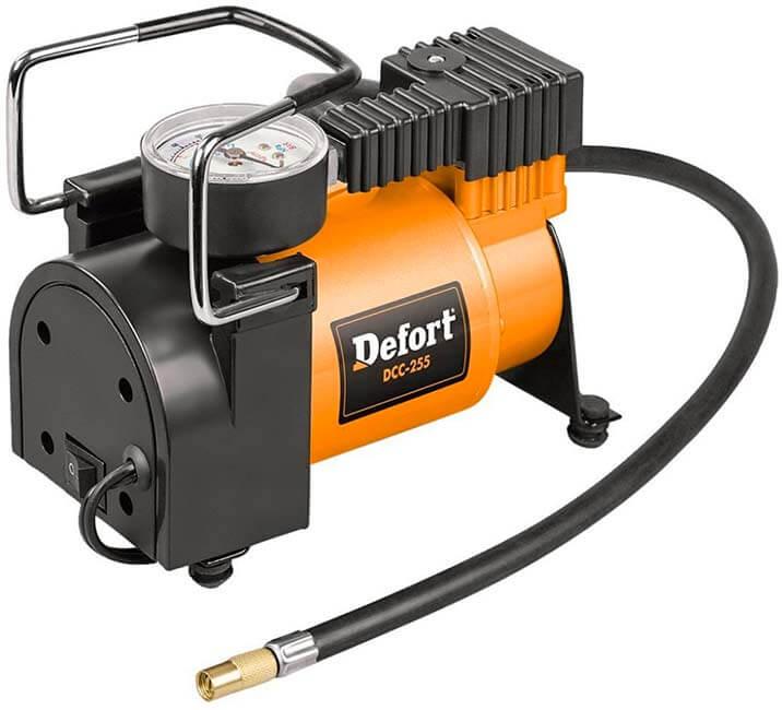 Mejores compresores de aire baratos precios opiniones Defort-DCC-255---Compresor-automático-con-motor-de-alto-rendimiento-(12-V)
