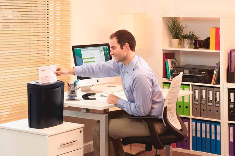 Mejores trituradoras de papel baratas domésticas Rexel Alpha