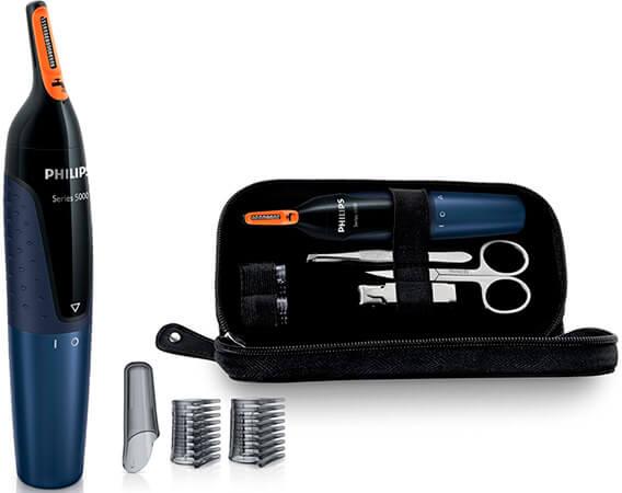 El mejor cortapelos de nariz y orejas Philips NT5180 15