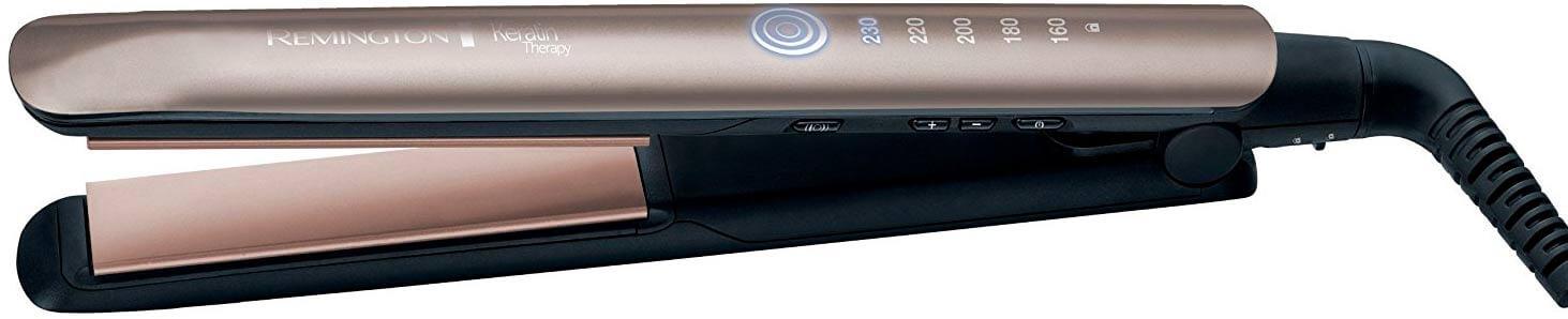 Las mejores planchas de pelo profesionales Remington S8590 Keratin Therapy Pro