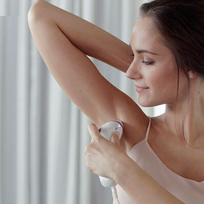 Mejor depiladora de luz pulsada intensa en casa Braun Silk expert IPL BD 3005