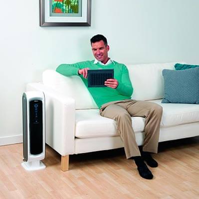 Mejor purificador de aire con filtro hepa opiniones Fellowes AeraMax DX 5