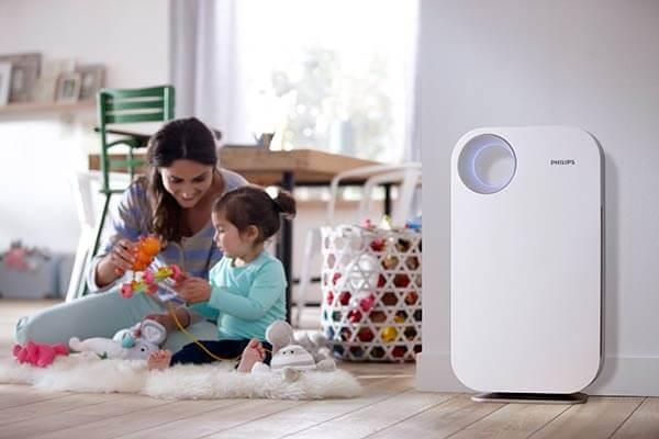 Mejor purificador de aire con filtro hepa opiniones Philips AC4072 11