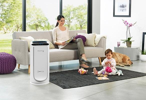 Mejor purificador de aire con filtro hepa opiniones Rowenta PU6020 Intense Pure Air XL