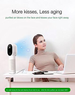 Mejor purificador de aire con filtro hepa opiniones Stoga ST01
