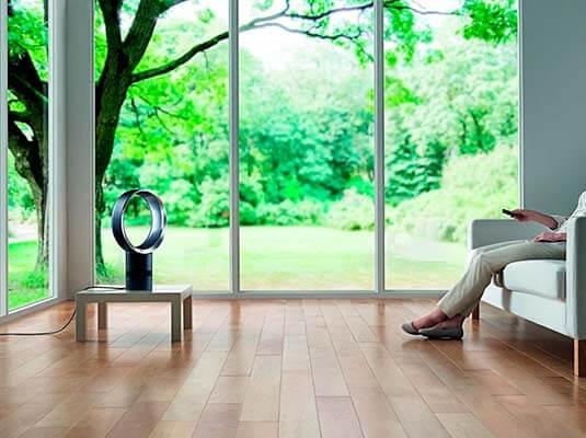 Mejores ventiladores silenciosos para dormir en casa de 2017 Dyson Air Multiplier AM06