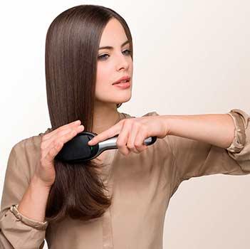 Mejor cepillo eléctrico para el pelo iónico 2017 Braun Satin Hair 7 IONTEC BR730