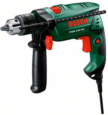 Mejor taladro percutor de batería 2017 Bosch PSB 530 RE