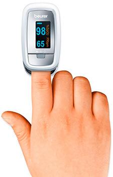 Mejores pulsioxímetros de dedo marcas y precio 2017 Beurer PO-30