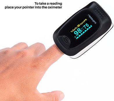 Mejores pulsioxímetros de dedo marcas y precio 2017 MeasuPro OX200