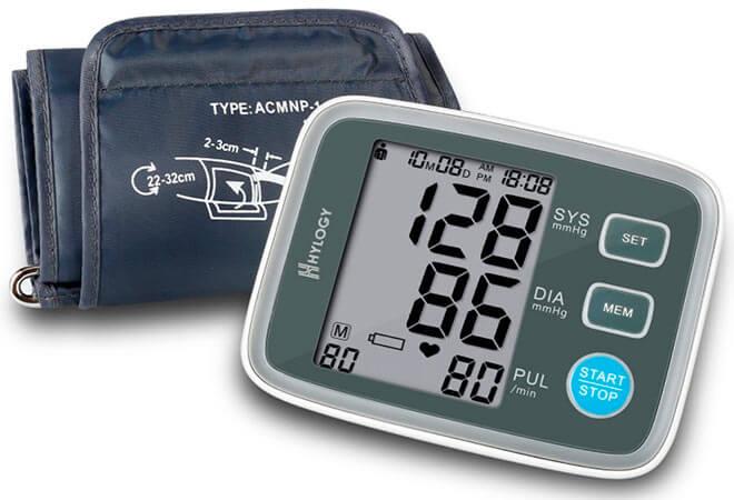 mejor tensiómetro digital de brazo Hylogy