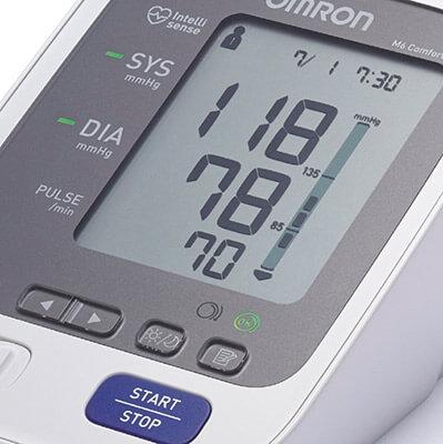 mejores tensiómetros digitales de brazo y muñeca OMRON M6 Comfort