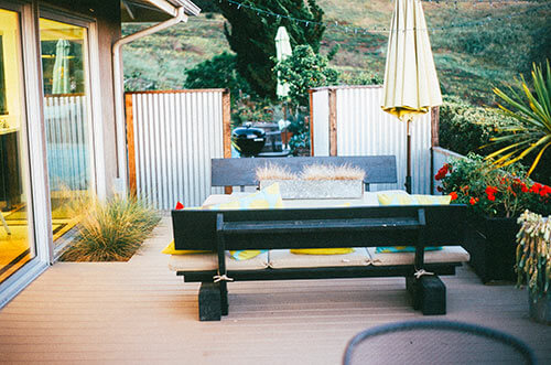 Feng shui en casa imagen de una terraza