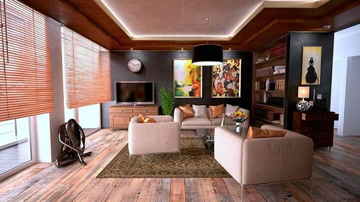 Post de Ideas de decoración para el hogar con un salón y sofás