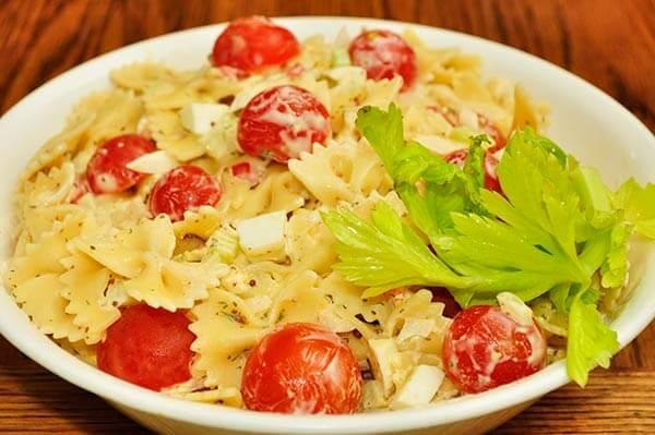Recetas de tupper para llevar a la oficina pasta con tomates cherry