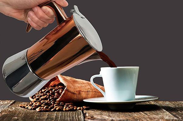 La mejor cafetera italiana de 2018 bonVIVO Intenca