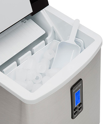 Máquina de hacer hielo doméstica Klarstein Mr. Black-Frost