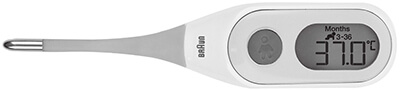 Termómetro digital para bebés Braun PRT2000