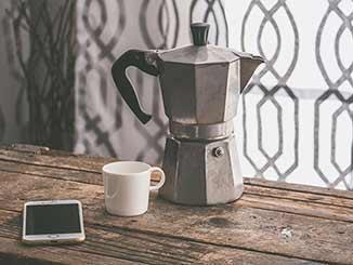 Cómo hacer un buen café en cafetera italiana