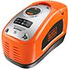 Mejor compresor de aire para coche Black and Decker ASI300-QS de color naranja