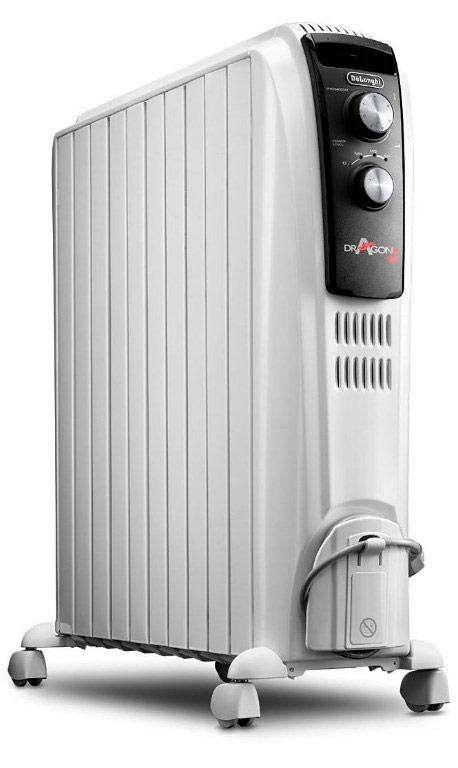 Calefactor de aceite DeLonghi Dragon 4 TRD04-1025
