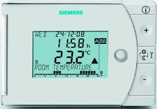 Cronotermostato Siemens REV24