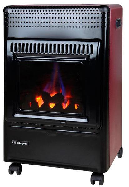 Mejor estufa de gas butano 2017 Orbegozo HBF 95 llama azul