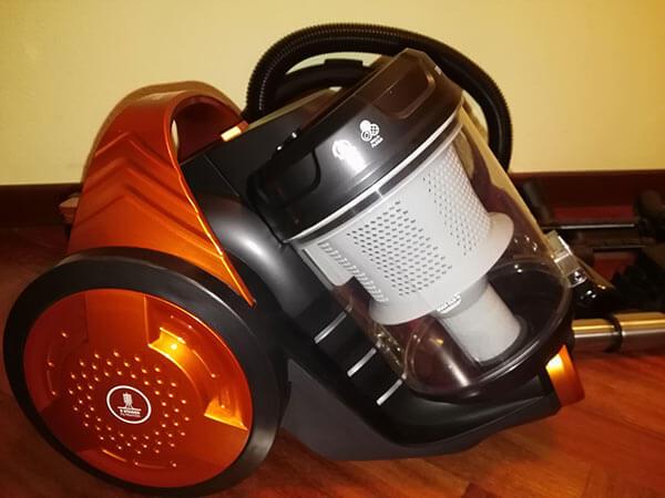 Mejores aspiradoras sin bolsa Rowenta Compact Power Cyclonic potente y barato comparativa