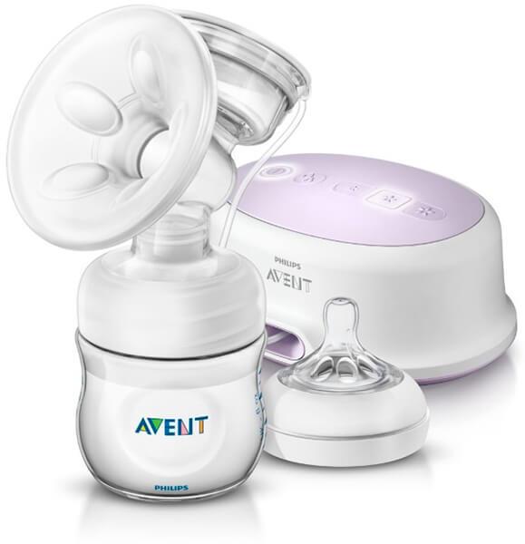 Mejores Sacaleches eléctrico Philips Avent blanco con cojín masajeador suave