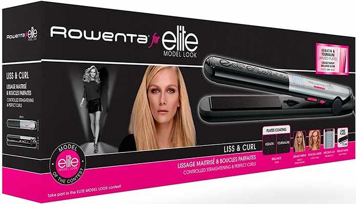 Las mejores planchas de pelo profesionales Rowenta Liss & Curl SF4522E0