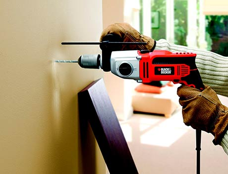 Mejor taladro percutor con cable BLACK+DECKER KR1102K-QS