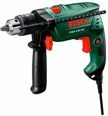 Taladro percutor de cable Bosch PSB 530 RE