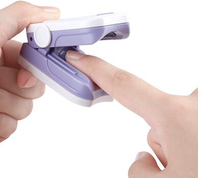 Pulsioxímetro de dedo Hylogy