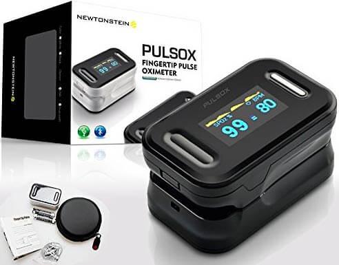 Pulsioxímetro de dedo Terraberk Pulsox