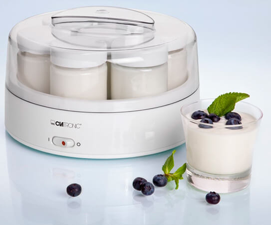 Las mejores yogurteras 2017 Clatronic Yogurtera JM 3344