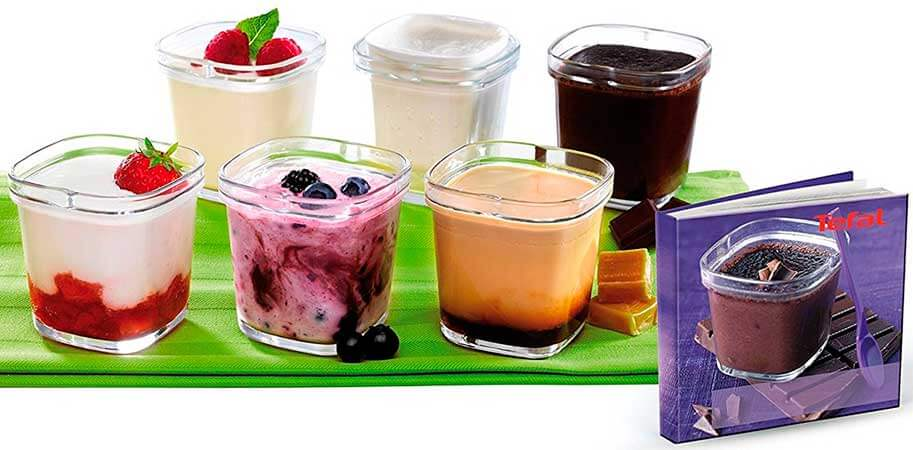 Las mejores yogurteras 2017 Tefal Multidelices